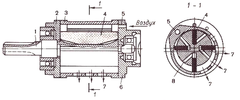 Пневмодвигатель поршневой своими руками 13